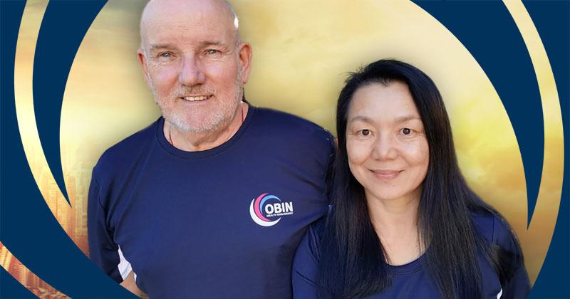 OBIN Heroes Geoff & Yali Adamson